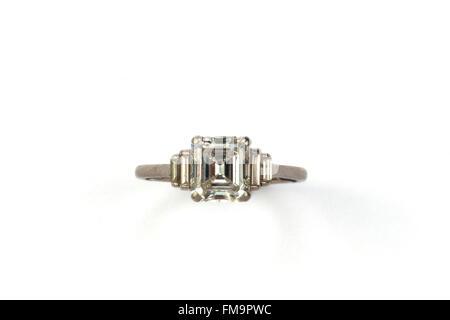A diamond ring - Stock Photo
