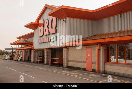 B Amp Q Diy Store Sign And Logo In Halesowen West Midlands B