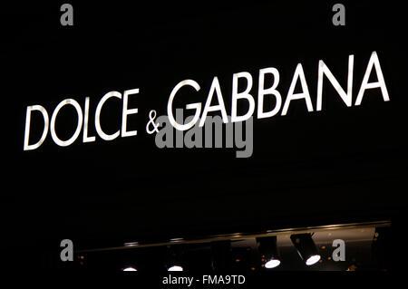 Markenname: 'Dolce Gabbana', Dezember 2013, Berlin. - Stock Photo