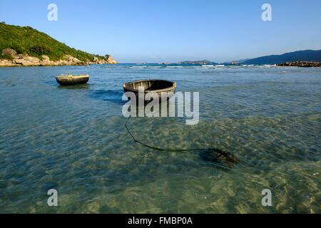 Vietnam, Ninh Thuan province, near Phan Rang, Nui Chua National Park, Binh Tien beach - Stock Photo