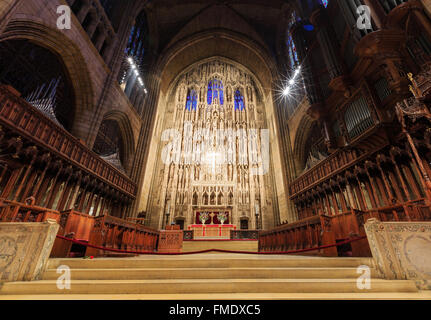 NEW YORK CITY, SEP 15: St. Patrick's Cathedral on SEP 15, 2014 at New York City. - Stock Photo