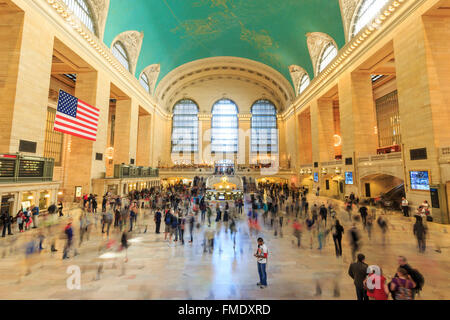 NEW YORK CITY - SEP 16:  The  Grand Central Terminal on SEP 16, 2014 in New York City. - Stock Photo