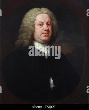 William Hogarth - Dr Benjamin Hoadly, MD - Stock Photo