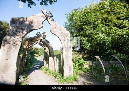 Cors Caron,Tregaron bog,Ceredigion,Wales,U.K. - Stock Photo