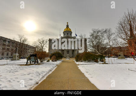 New Hampshire State House, Concord, New Hampshire, USA. New Hampshire State House is the nation's oldest state house, - Stock Photo