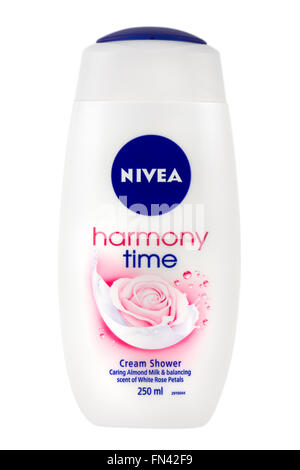 Nivea Harmony Time Shower Cream. - Stock Photo
