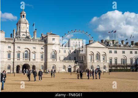 Horse Guards Parade, London, England, UK - Stock Photo