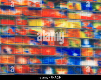 Sound and Vision Institute, Dutch Media Museum on Media Park in Hilversum, the Netherlands - Stock Photo