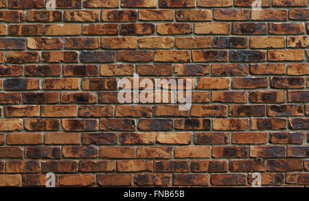 old red brick wall texture and background - Stock Photo