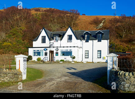 Catacol Bay Hotel, Isle of Arran, North Ayrshire, Scotland UK - Stock Photo