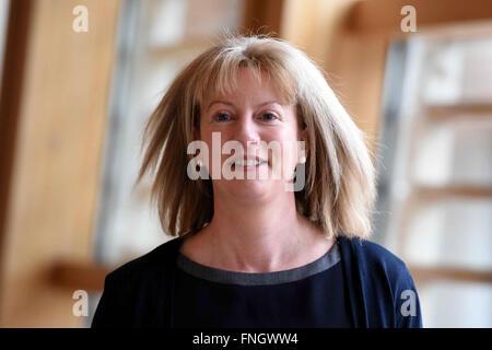 Edinburgh, Scotland, United Kingdom, 25th February 2016. Scottish Cabinet Secretary for Health Shona Robison pictured - Stock Photo