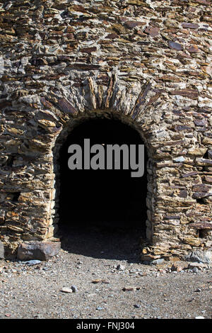 Wildrose Charcoal Kilns, Death Valley National Park, California, United States of America - Stock Photo
