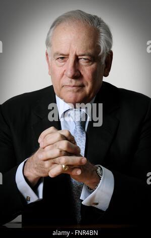 Field Marshal Charles Ronald Llewelyn Guthrie, Baron Guthrie of Craigiebank - Stock Photo