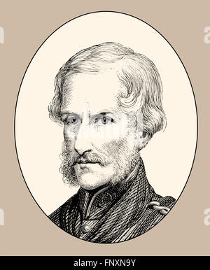 Major General Sir Henry Havelock, 1795-1857, a British general - Stock Photo