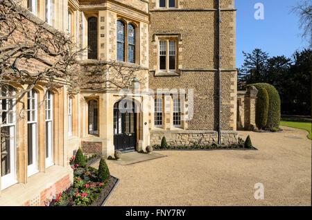 The Masters Lodge, Jesus College, University of Cambridge, Cambridge, England, UK. - Stock Photo
