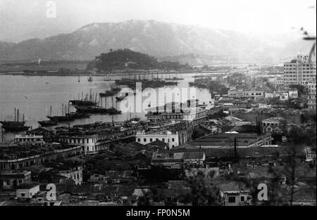 1962 - MACAO Inner Harbor © Keystone Pictures USA/ZUMAPRESS.com/Alamy Live News - Stock Photo