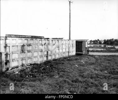 1962 - British Honduras - World's Newest Hot-Spot: The burial vaults of the British who died in Belize during the - Stock Photo