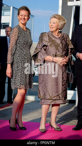 The Hague, The Netherlands. 16th Mar, 2016. Princess Beatrix and Princess Mabel of The Netherlands attend the 2nd - Stock Photo
