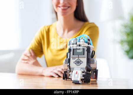 Robot in my life now - Stock Photo