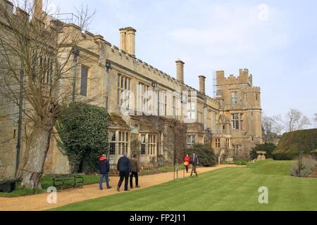 Sudeley Castle, Winchcombe, Gloucestershire, England, Great Britain, United Kingdom, UK, Europe - Stock Photo