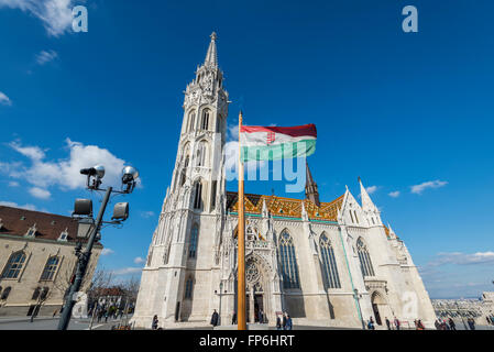 Matthias Church,Budapset Hungary - Stock Photo