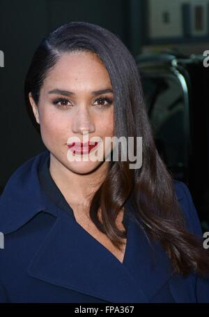 New York, NY, USA. 17th Mar, 2016. Meghan Markle out and about for Celebrity Candids - THU, New York, NY March 17, - Stock Photo