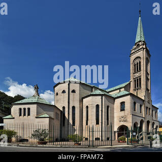 TEMPLE LOVERE in honor of the holy Bartolomea Capitanio and Vincenza Gerosa. - Stock Photo