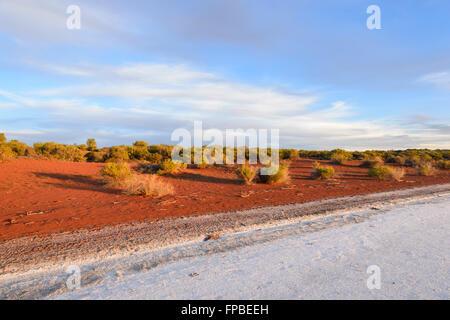 Lake Gairdner, South Australia, SA, Australia - Stock Photo