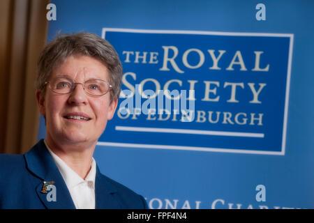 Dame Jocelyn Bell Burnell, President of the Royal Society of Edinburgh - Stock Photo
