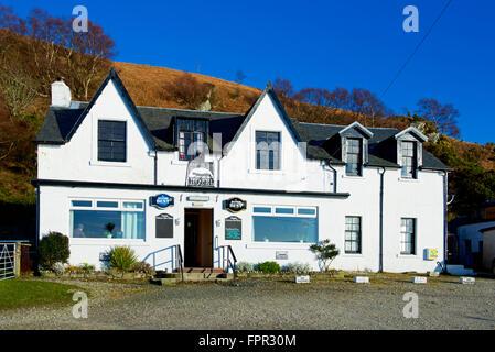 The Catacol Bay Hotel,  Isle of Arran, North Ayrshire, Scotland UK - Stock Photo