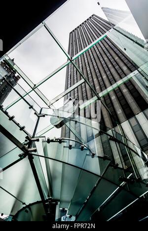 Apple Store 5th Avenue New York, USA - Stock Photo