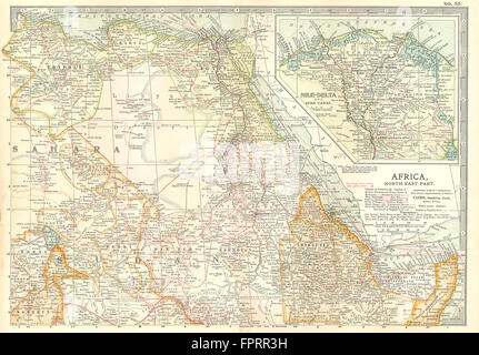 Map Of Egypt And The AngloEgyptian Sudan At The Time Of The - Map of egypt and sudan