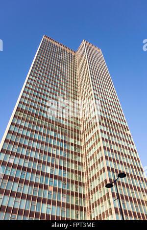 Euston Tower, Euston Road, London, UK - Stock Photo