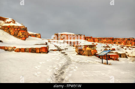 Fortress Erebuni in Yerevan - Stock Photo
