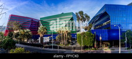Pacific Design Center, Los Angeles, California - Stock Photo