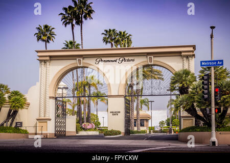 Paramount Pictures, Main Gate - Stock Photo