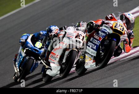 Losail International Circuit, Qatar. 20th March 2016. Jorge Lorenzo Stock Photo: 100193421 - Alamy