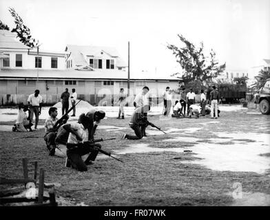 1962 - British Honduras - World's Newest Hot-spot : British Honduras, the only British Colony in Central America, - Stock Photo