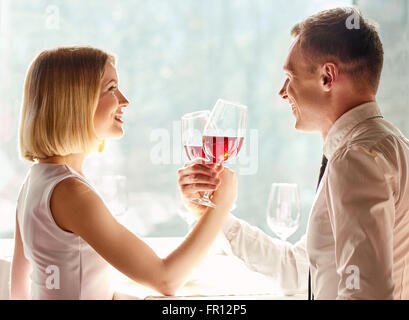 Having great and enjoyable time together. - Stock Photo
