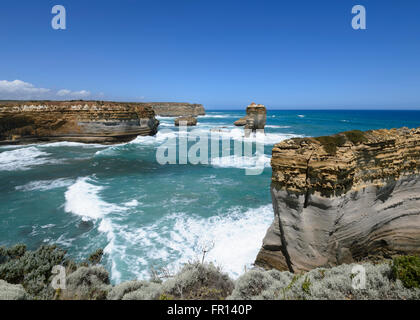 The Razorback, Great Ocean Road, Victoria, VIC, Australia - Stock Photo