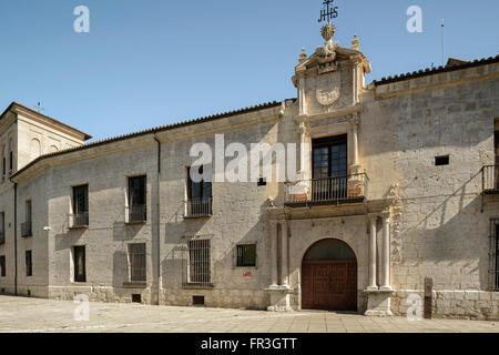 Palace of the Conde de Gondomar Valladolid - Stock Photo