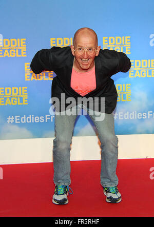 eddie 'the eagle' edwards stock photo  alamy