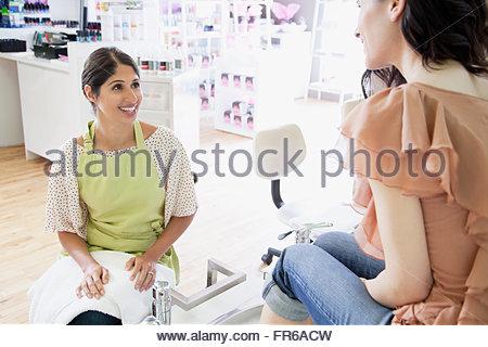 woman having spa treatment - Stock Photo