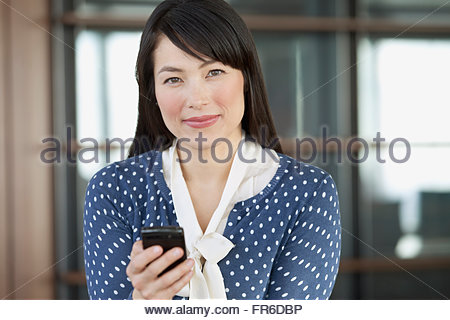 pretty businesswoman in modern office - Stock Photo