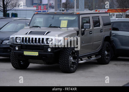 Markenname: 'Hummer', Berlin. - Stock Photo