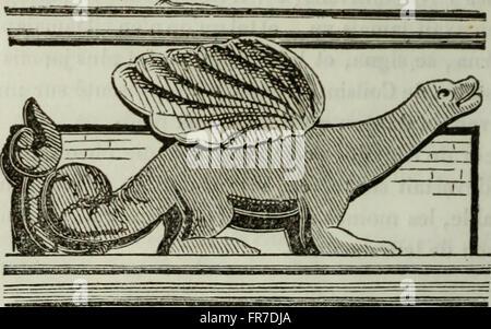 Histoire de Lille et de la Flandre wallonne (1848) - Stock Photo