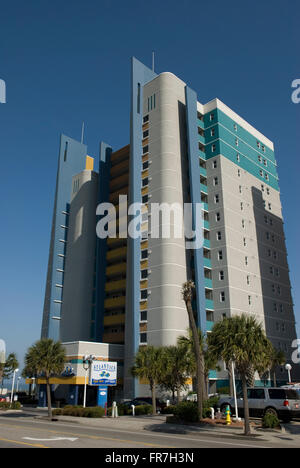 Atlantica Resort Myrtle Beach South Carolina USA - Stock Photo