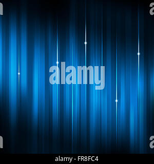 abstract technology business motion lines and lights blue background - Stock Photo