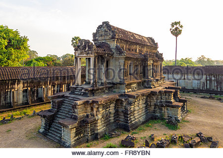 Angkor Wat, UNESCO World Heritage Site, Siem Reap Province, Cambodia - Stock Photo