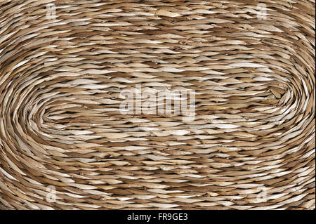 Detail of cattail crafts - Artesas Associated Happy Valley - Stock Photo